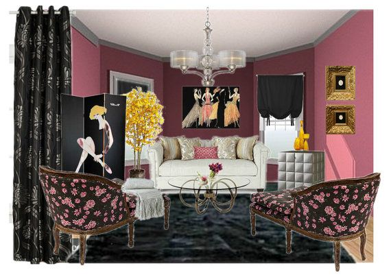 Virtual Room Design With Concept Candie Interiors On ETSY. Affordable Interior  Decorating And E Design Mood Boards.