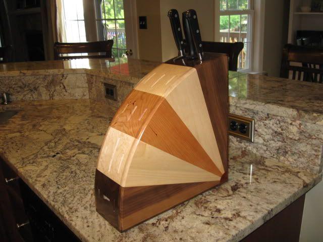 custom knife blocks