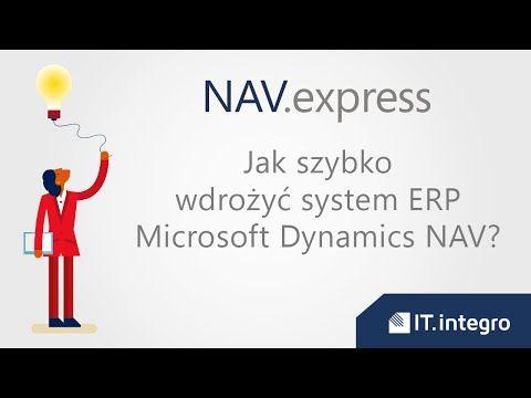Jak szybko wdrożyć Microsoft Dynamics NAV? - YouTube