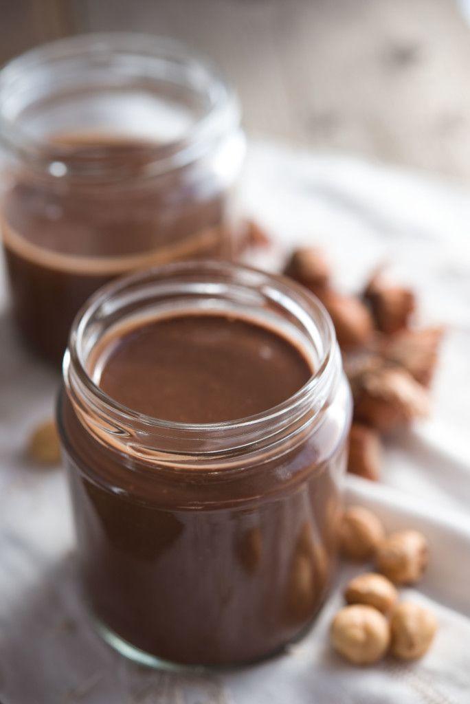 CREMA DI NOCCIOLE #nutella #homemade