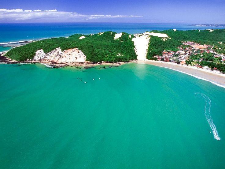 Praia de Ponta Negra, Natal/RN, Brasil.