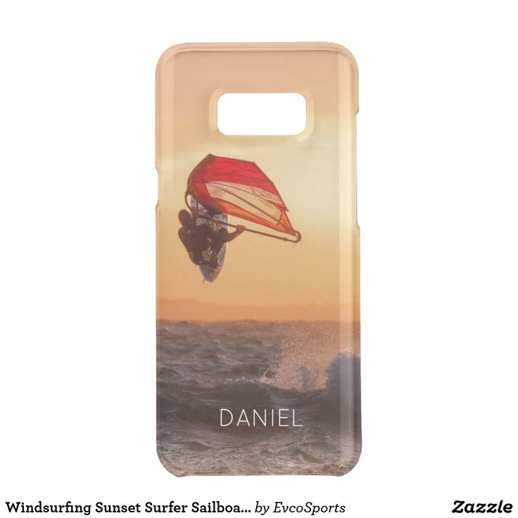 Windsurfing Sunset Surfer Sailboarding Samsung S8+