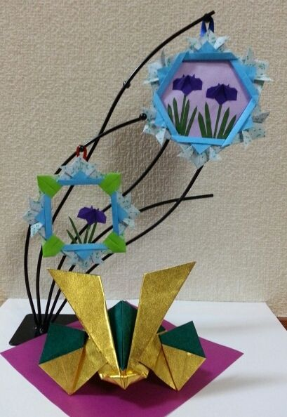兜の飾り 桃太郎 | 折り紙の楽しみ