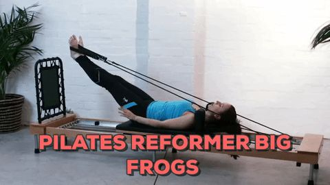 Pilates Reformer Big Frogs Exercise