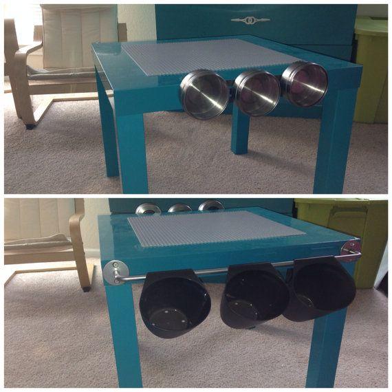 Custom Lego Table With Additional Storage