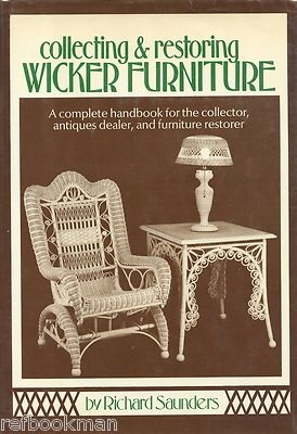 collecting restoring antique wicker furniture in depth illustrated book ebay