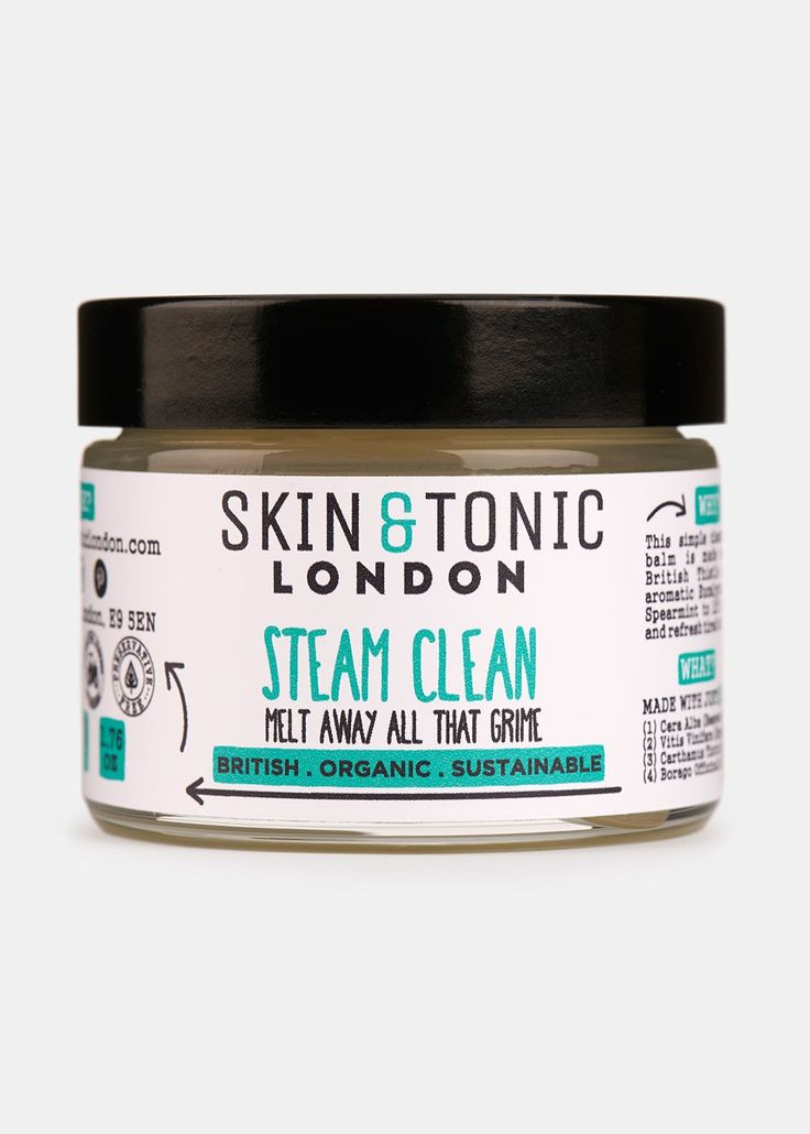 how to clean face with steam