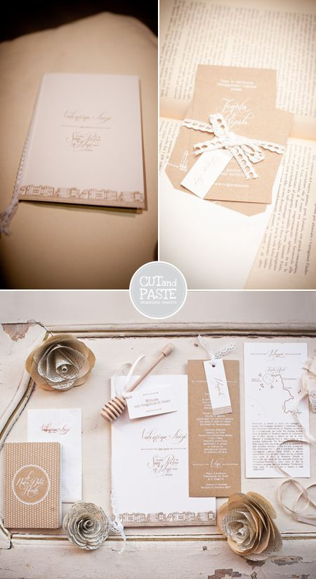 Valentina Oliana | CUTandPASTEItalyGraphic design / wedding stationery   http://cutandpaste-lab.blogspot.com/