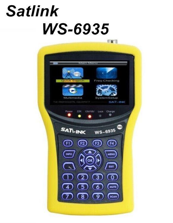 251.59$  Buy now - http://alis39.worldwells.pw/go.php?t=32472004092 - Original SATLINK WS-6935 HD DVB-T/ DVB-T2 wth Spectrum Analyzer Digital Satellite Finder Meter Demodulation QPSK,16QAM,64QAM