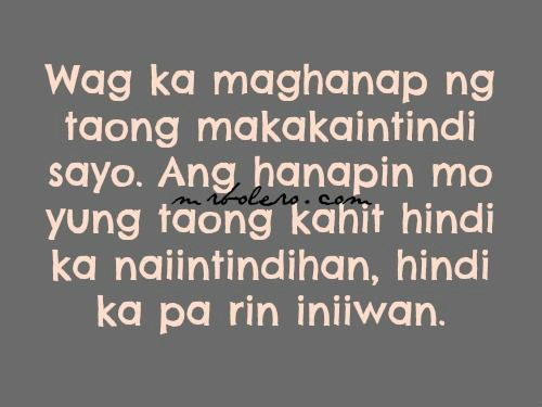 Love Quotes For Him Tagalog 2014 : Tagalog Quotes, Patama Quotes, Second Chance, Love Quotes Sayings ...