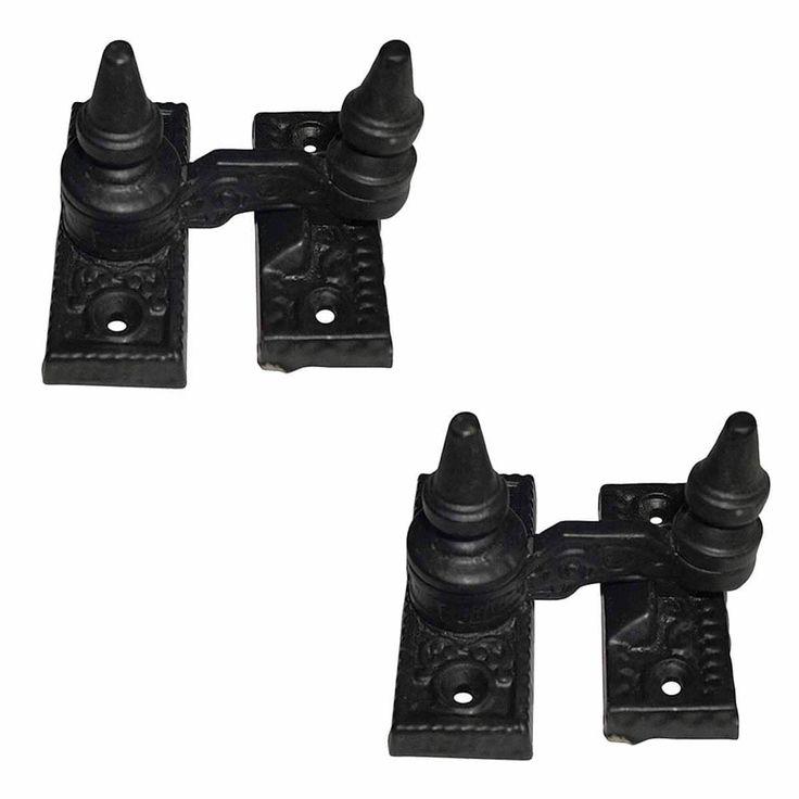 2 Vintage Sash Window Lock Black Cast Iron | Renovator's Supply (Renovator's Supply Black)