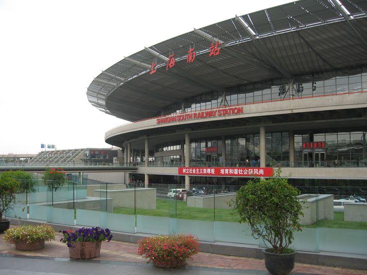 Shanghai South Train Station, 2006