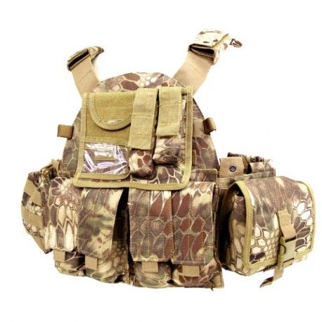 Gilet tactique - Type MOPC - poches MOLLE - Kryptech Highlands