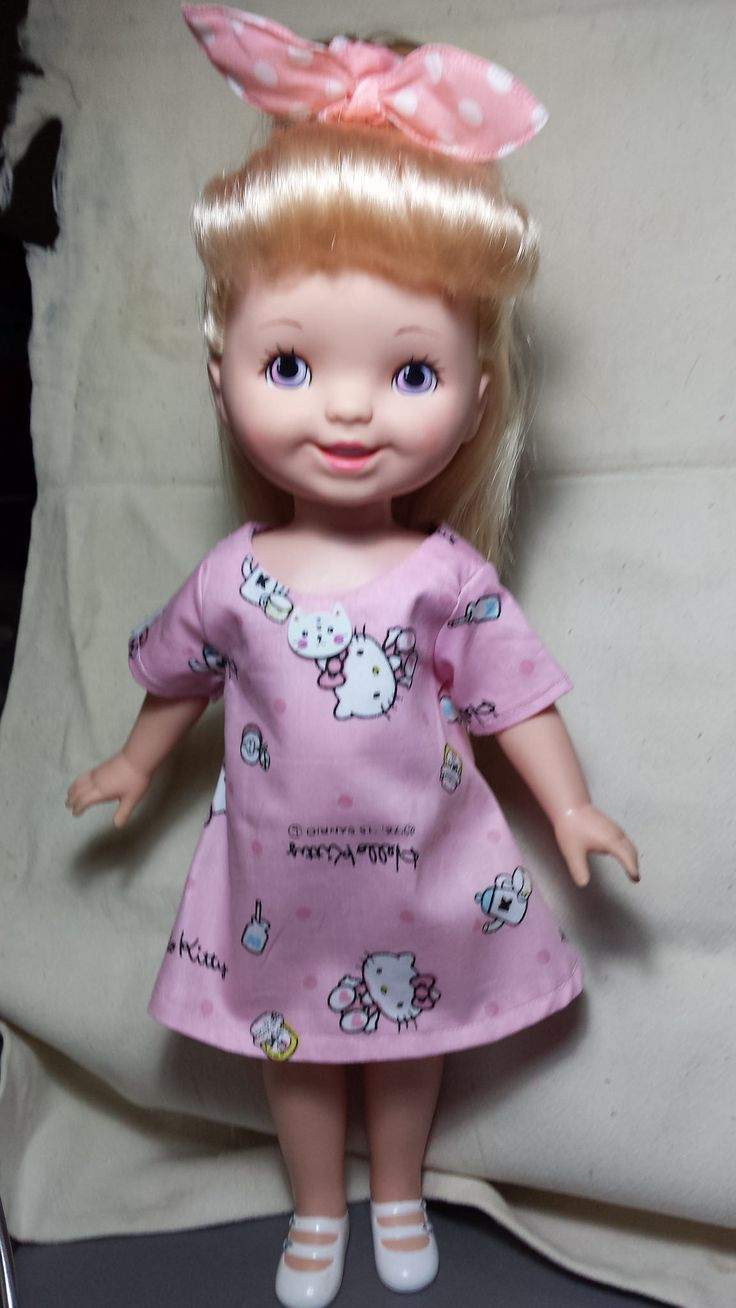 https://flic.kr/p/HGDziG | 20160613_115439 | This is also the Sunshine dress, this time using the pattern for Disney Animator dolls. This doll was one owned by my grandaughter and is a Playmates doll.
