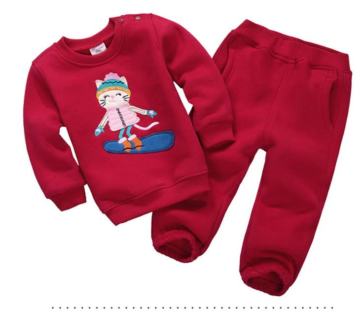 >> Click to Buy << 13 Colors Monkey Car Children Baby Girls Boys Kids Clothing Set Warm Suit Hoody Jacket+pants Cartoon Clothes Kids Sportswear #Affiliate