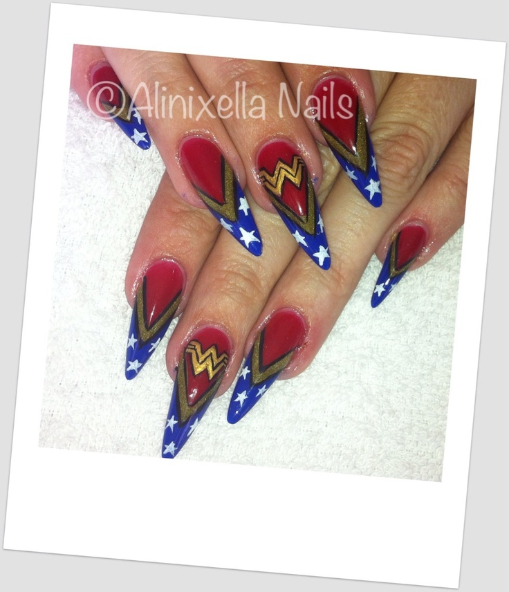 Nails Wonder Woman Can Nail Art Be Feminist: 156 Best Images About Nail Art On Pinterest