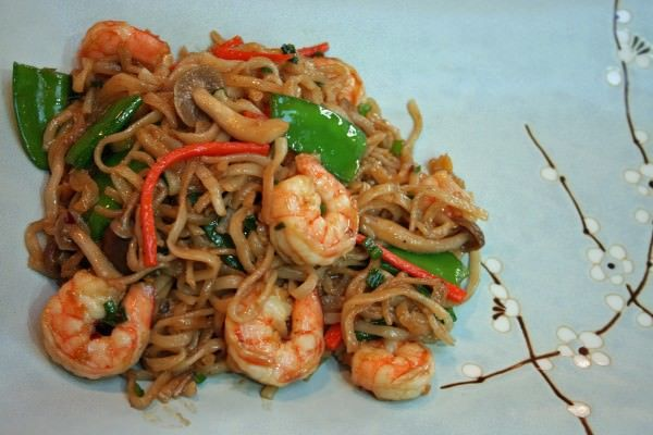 Test Kitchen Tuesdays: Seafood Lo Mein | Savoring Today | Healthy Recipes for Discerning Cooks
