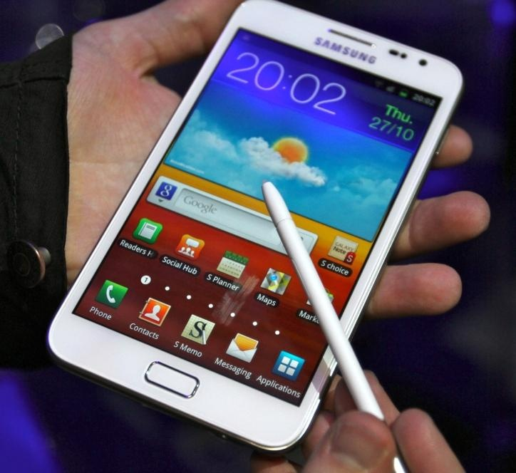 #galaxynote, #samsung, smartphone or tablet?, nice!