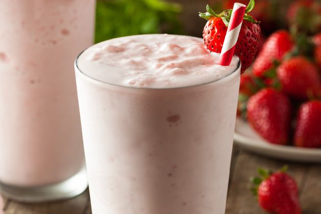 Day 23, Strawberry Milkshake