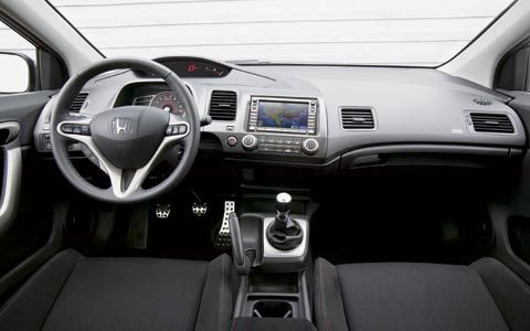 2007 Honda Civic SI Coupe Interior