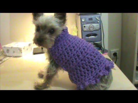 Πλεκτό πουλοβεράκι σκύλου