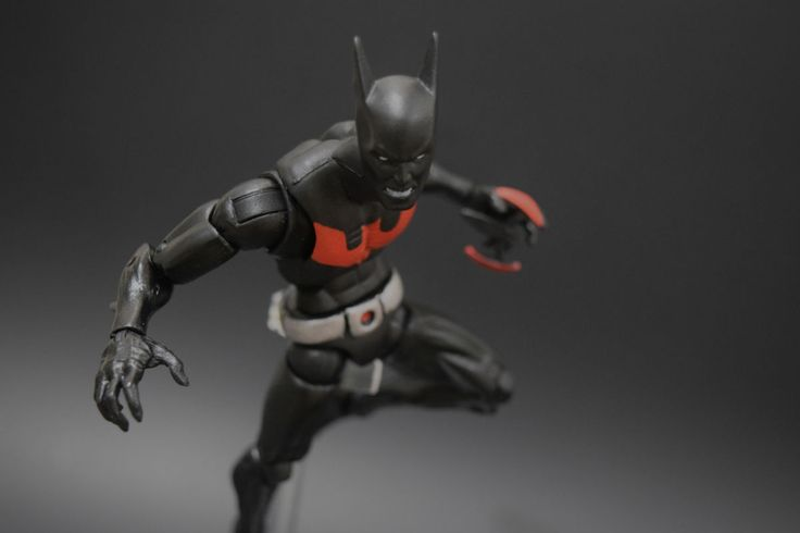 Batman Beyond (Marvel Legends) Custom Action Figure by Rogue Customs Base figure: ML base body with the head of DCUC Batman Beyond