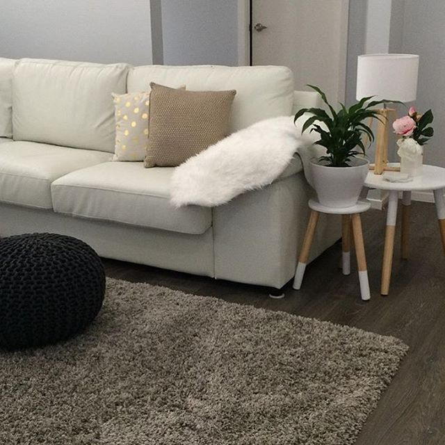 Just received this gorgeous pic from @shenae_alyssia of her lounge room Featuring the #kmart ottoman, fur throw rug, cushions, dipped side table & stool, lamp and plant pot Love it, thanks so much for the tag! I hope I see the knit cushions back in store soon, we only must have had one drop of those in my store! #kmart#kmartlove#kmartstyling#kmartaus#kmarthome#kmartaustralia#kmartloversunite#thankskmart#kmartloveaus#kmartausshare#home#kmartstyle#bargain#bargainshopper