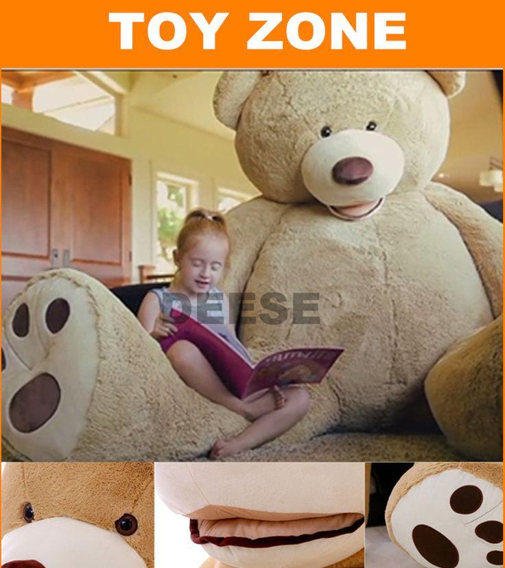 200 cm juguetes de Peluche de la piel EE. UU. abrigo de oso de Peluche Gigante de Lujo Felpa Extra Grande Oso de Peluche de juguete de regalo de cumpleaños fift(China (Mainland))