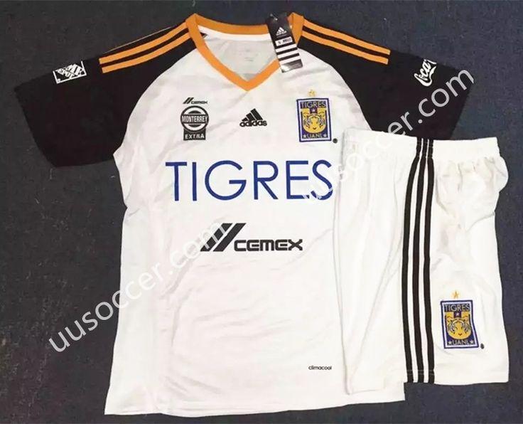 2016/17 Tigres UANL  White Soccer Uniform
