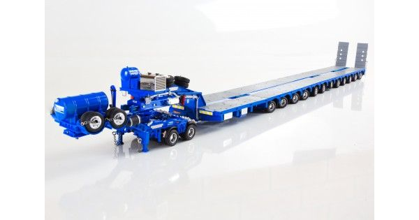 McAleese - 7x8 Steerable Trailer, 2x8 Dolly with Additional Steerable Trailer Accessories Kit 1:50 Scale Drake Collectibles