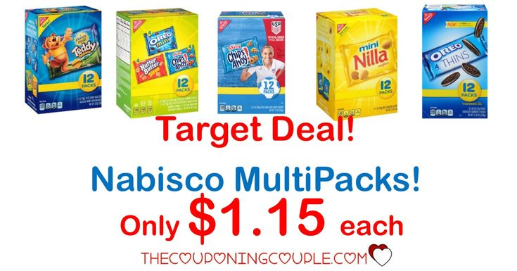HOT TARGET DEAL! Grab Nabisco MultiPacks for only $1.15 each! Perfect for lunch bags or after school treats!   Click the link below to get all of the details ► http://www.thecouponingcouple.com/cheap-nabisco-multipacks-deal-target/ #Coupons #Couponing #CouponCommunity  Visit us at http://www.thecouponingcouple.com for more great posts!