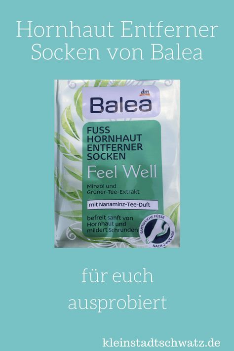 Beautiful feet through callus remover socks from Balea? I tried it …, # trying …