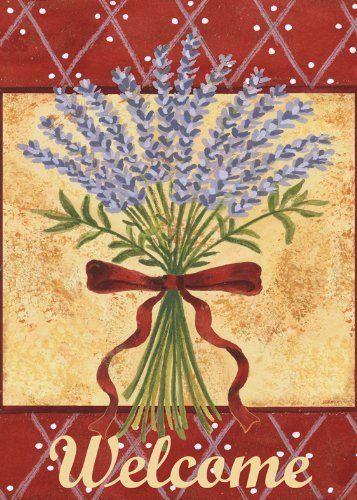 Lavender Spray Garden Flag by Toland Home Garden. $6.70. Toland Flags are made from durable 600 denier polyester. All Toland Flags are machine washable. Heat sublimated process permanently dyes flag fabric for long-lasting color. Decorative Art Flag. Toland Flags are UV, Mildew, and Fade Resistant. Lavender Spray Garden Flag 12-1/2 by 18