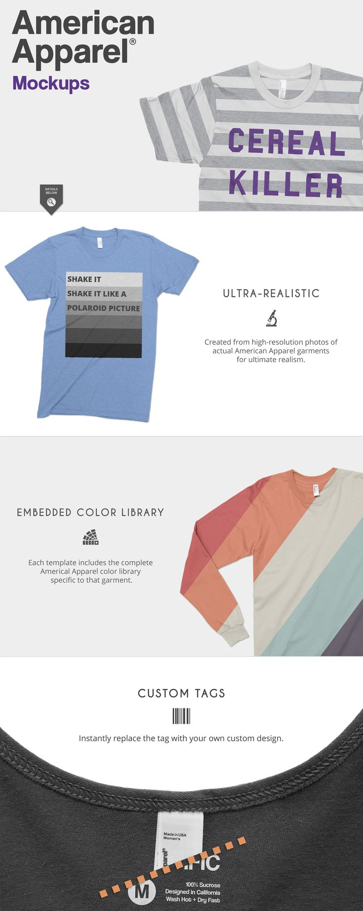 Design your own t shirt made in usa - Storefront Apparel Mockups Bundle By Photific On Creativemarket