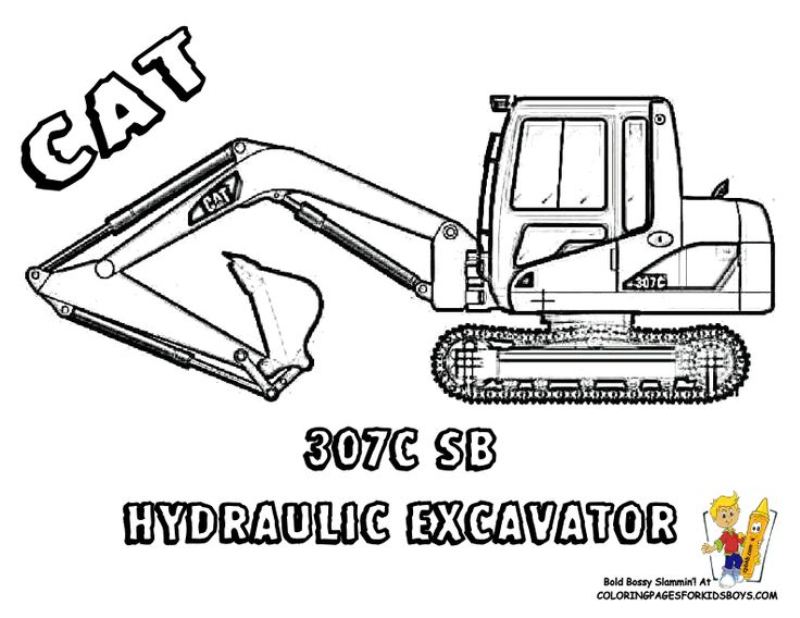 free construction vehicles coloring pages - photo#15