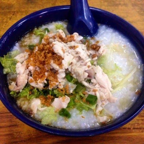 The Flavoursome Journey. Chicken Porridge