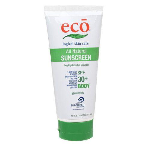 Eco All Natural Sunscreen SPF 30+ Body