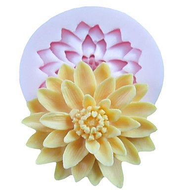 One Hole Deep Flower Silicone Mold Fondant Molds Sugar Craft Tools Resin flowers Mould For Cakes 945196 2017 – $2.99