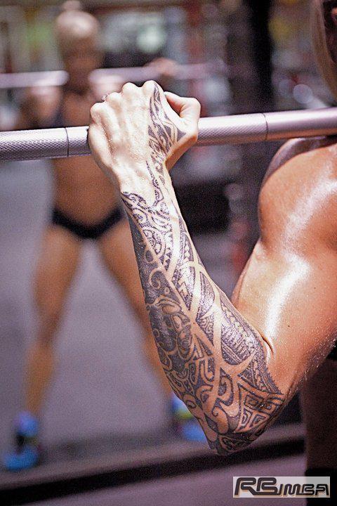 Larissa Reis tattoo