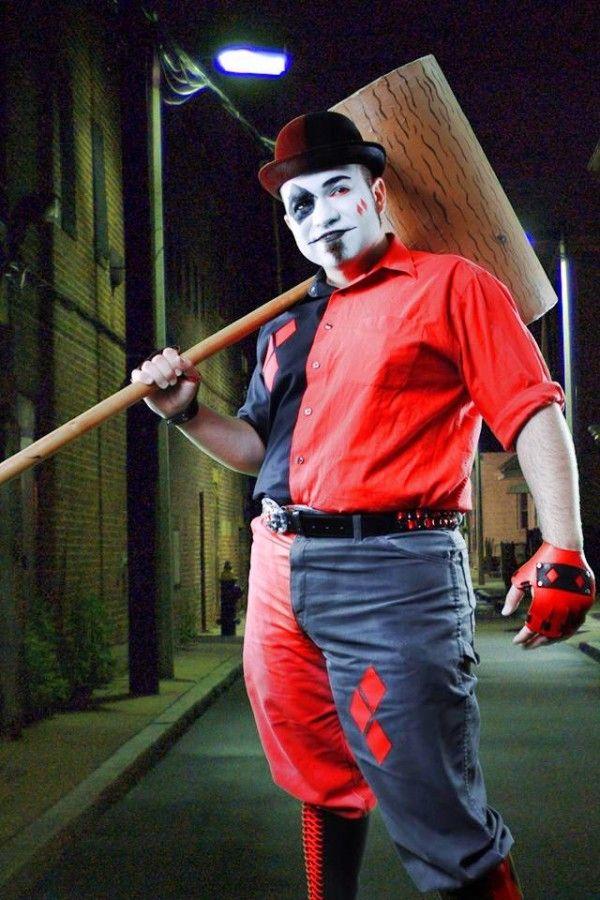 Otaku House Cosplay Idol » Demonpunk Cosplay: Harvey Quinn (Harley Quinn Genderbend) from Batman the Animated Series