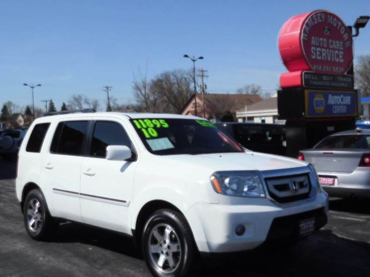This 2010 Honda Pilot Touring w/Navi w/DVD is listed on Carsforsale.com for $11,895 in Milwaukee, WI. This vehicle includes 4wd Type - On Demand, Abs - 4-Wheel, Active Head Restraints - Dual Front, Air Filtration, Airbag Deactivation - Occupant Sensing Passenger, Ambient Lighting, Antenna Type - Element, Anti-Theft System - Alarm, Anti-Theft System - Audio Security System, Anti-Theft System - Engine Immobilizer, Auxiliary Audio Input - Jack, Auxiliary Audio Input - Usb, Axle Ratio ...