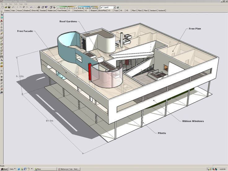 DAO : Les logiciels de dessin gratuits alternatifs à AutoCAD - Sketchup : un logiciel de DAO 3D gratuit