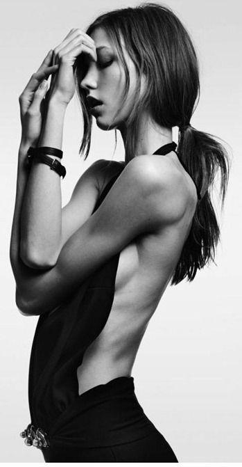 Karlie Kloss by Heidi Slimane