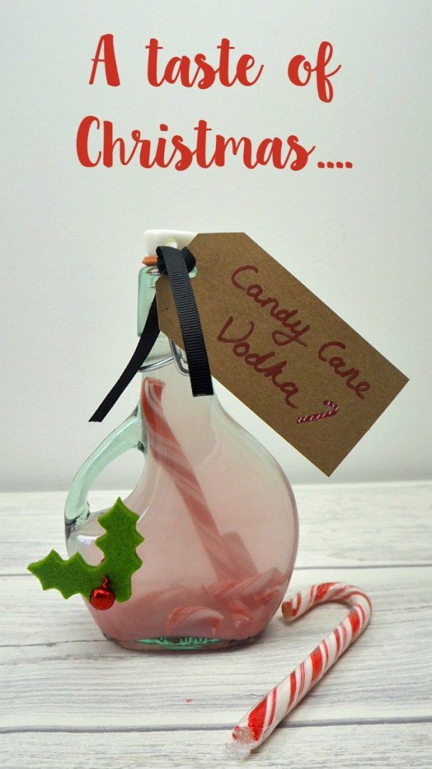 How to make candy cane vodka. A super gift for friends or an even better treat for you....