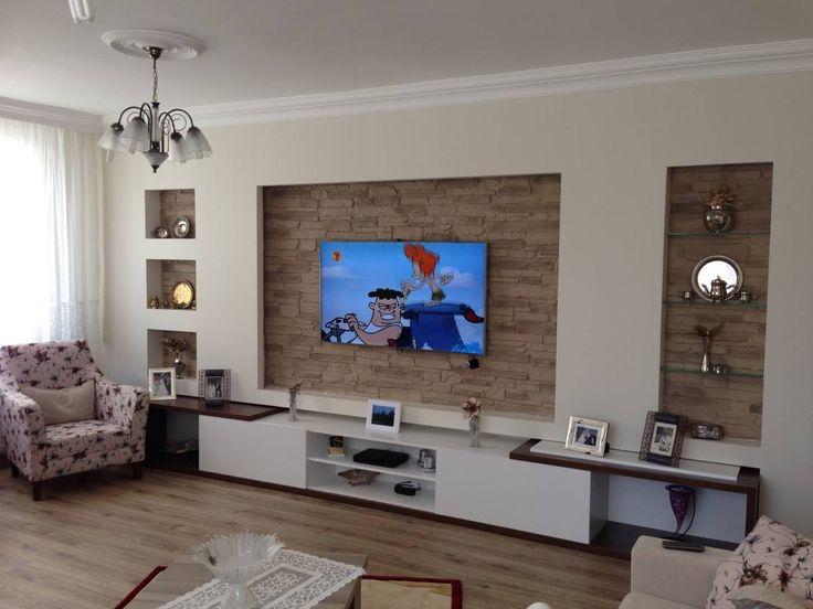 Die besten 25+ Tv wand mit led beleuchtung Ideen auf Pinterest - wohnwand ideen selber machen