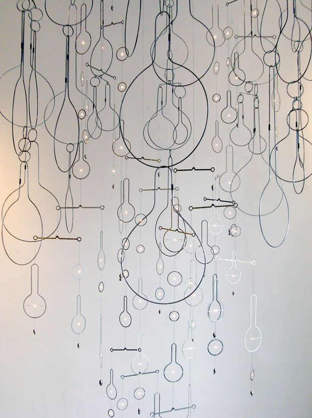 Wire Sculptures by Rodger Stevens