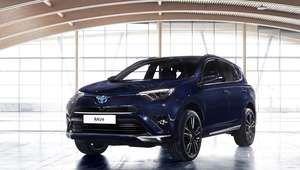 El Toyota RAV4 hybrid Sapphire, el futuro de los híbridos