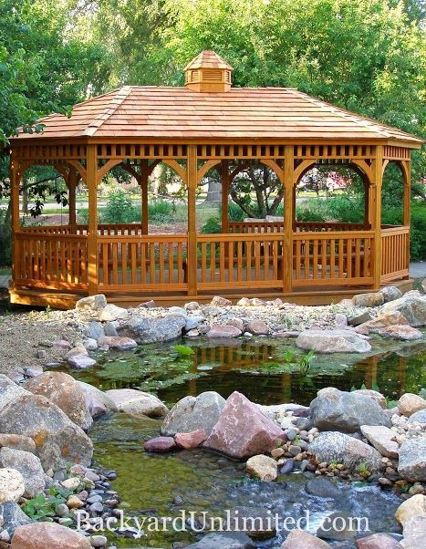 68 Best Amish Built Gazebos Images On Pinterest Outdoor