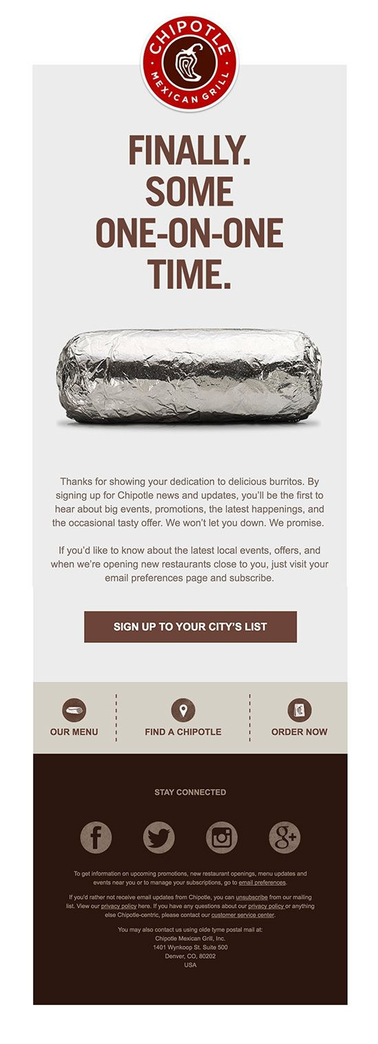 7 Irresistible Restaurant Email Designs | Emma Email Marketing
