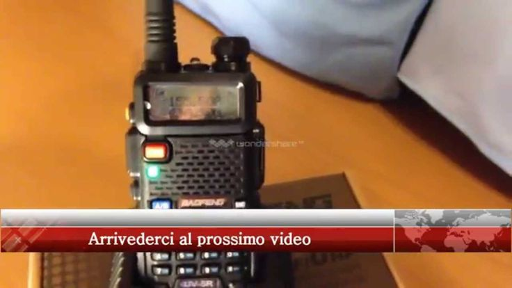 Baofeng VHF / UHF Portable  Dual band Ham Radio